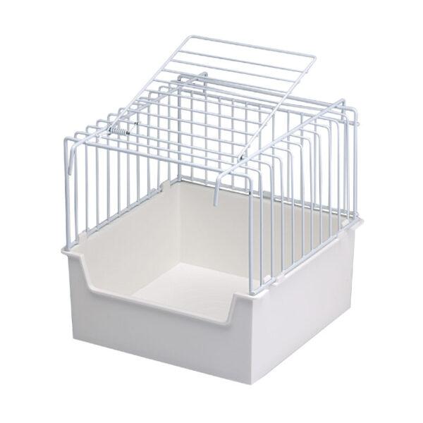 small wire bird bath