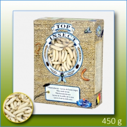 Box of 450gms Frozen Top Insect Waxworms