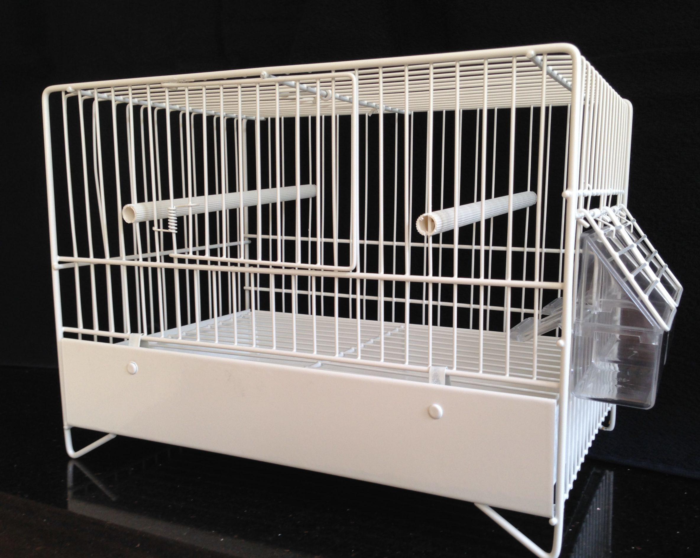 DOMUS MOLINARI Italian Metal Wire Cage 425-12 WPC