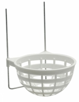 Plastic Nest Pan holders with wire hooks
