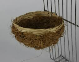Wicker & Coconut Fibre Nest Pan