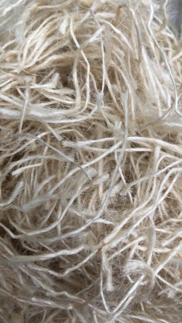 White Sisal or Jute cotton for birds