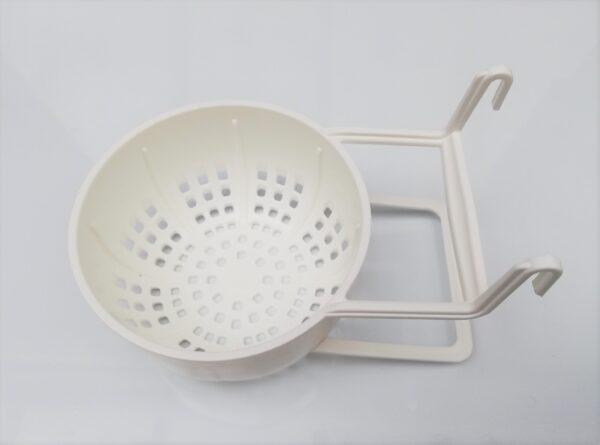 Plastic Nest Pan holder with hooks